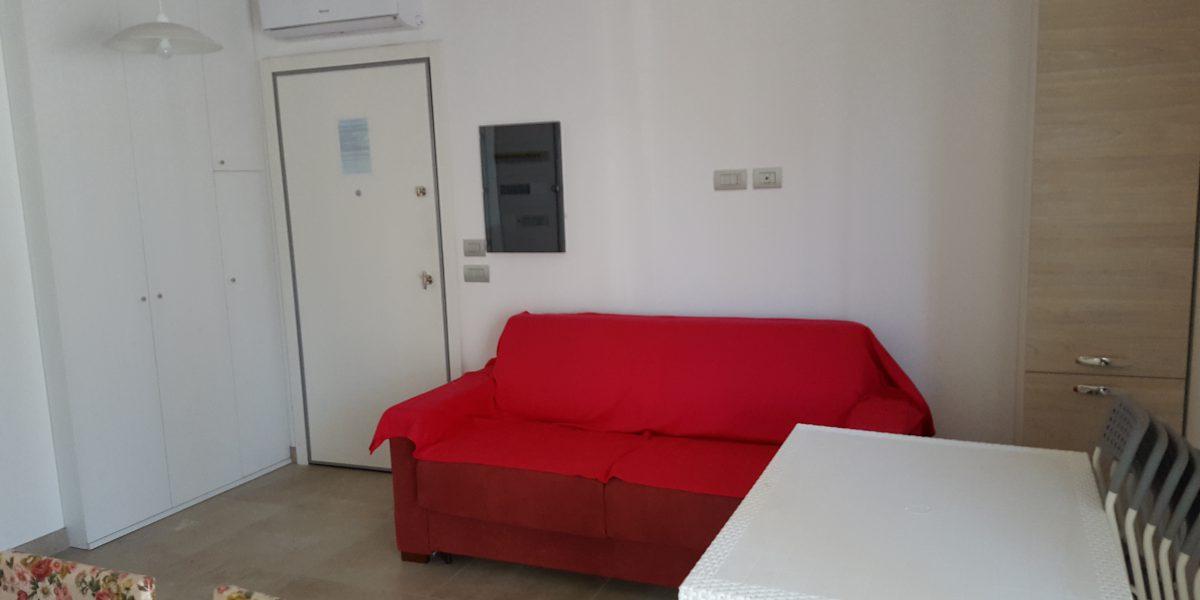 soggiorno appartamento Cupra Marittima