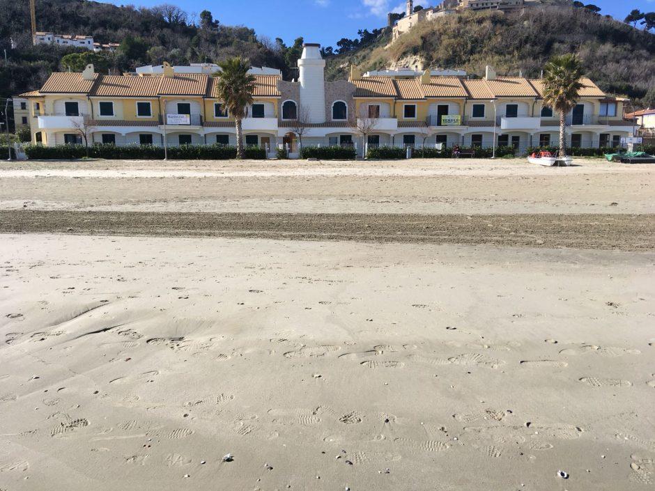 nuove case fronte mare Cupra Marittima